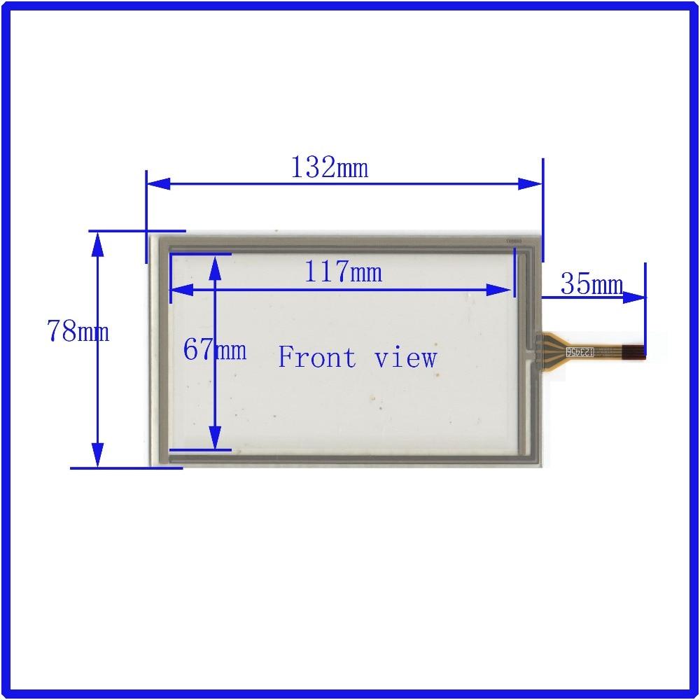 ZhiYuSun 4,8 Zoll 132 * 78 4-Draht TOUCH SCREEN das Glas für GPS - Tablet-Zubehör