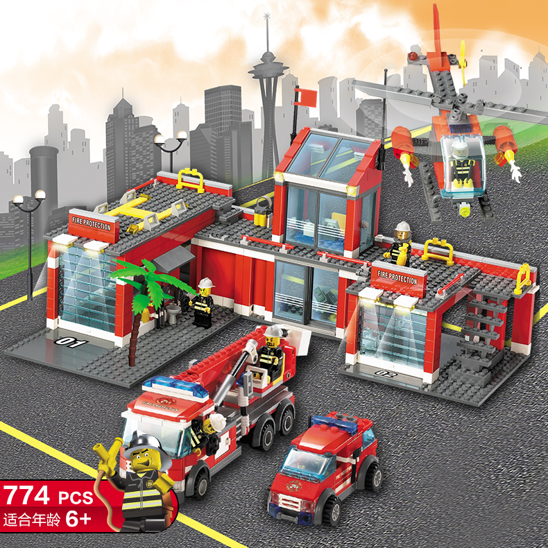 New Arrival City Set Series Fire Station 774pcs Building Blocks Fire Station Rescue Control Regional Bureau Bricks Toys For Boys  east asian multilateralism – prospects for regional stability