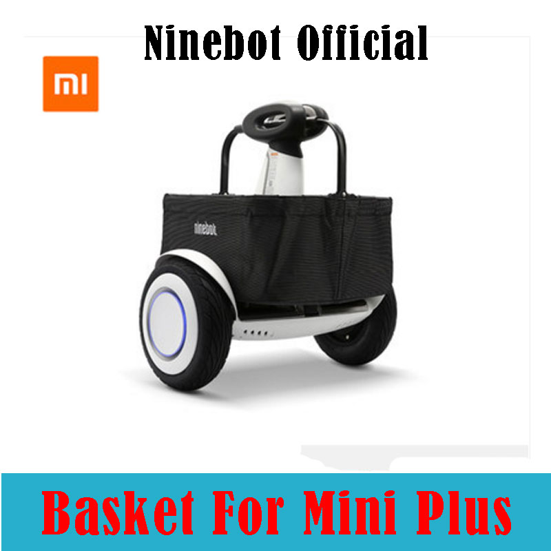 все цены на Ninebot Orignal Shopping bag for Xiaomi mimi plus scooter Ninebot nine mini plus bags for Xiaomi electric balance scooter plus