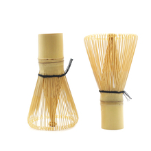 Chasen Bamboo Dust Powder Whisk Tool Matcha Japanese Tea Set Accessory, Traditional Ceremony 60-70pronge