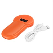 Animal Microchip Recognition Reader RFID Pet Tag 134.2Khz Ear Scanner Portable ID