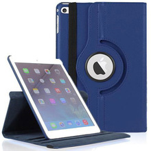 360 Degree Rotating PU Leather Case for Apple iPad 2 3 4 PU Leather Litchi Style Smart Stander Cover for iPad 2/3/4 Case