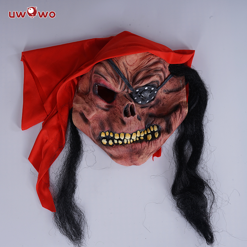 UWOWO Scary Mask Halloween Cosplay Costume Party Game Play Accessory Mask Anime Movie Costume Masks
