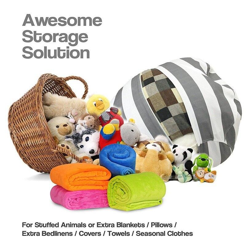 16 дюймов современные хранения чучело хранения погремушка стул Портативный детская одежда игрушка Сумки для хранения для Ванная комната Го...