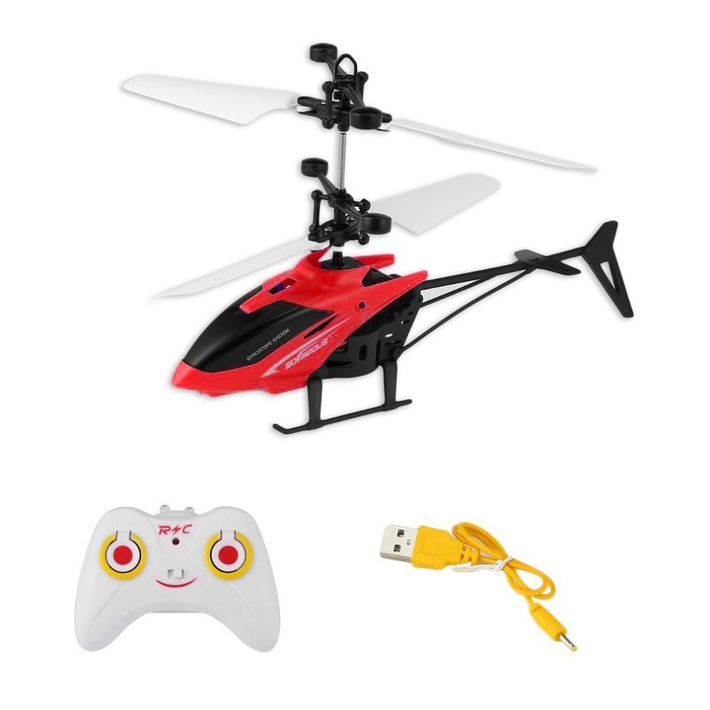 OCDAY LED Flashing Light RC Infrared Induction Plane Aircraft Flying Toys With Remote Control Floating Flight For Kids