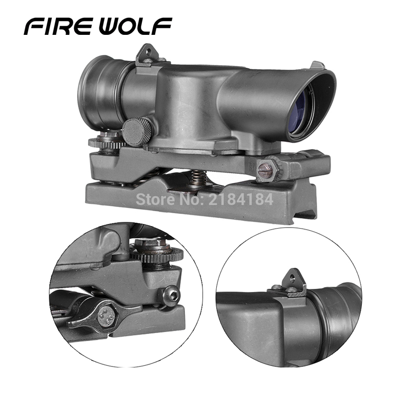 L85 Susat Iron 3.5x30 Optical Sight Rifle Scope Quick Detach For Airsoft Weaver Mount Comp M4 Optical Instrument Laser st3038 shoot thing xwxs l85 susat iron 4x32 optical sight rifle shotgun scope quick detach for airsoft weaver mount