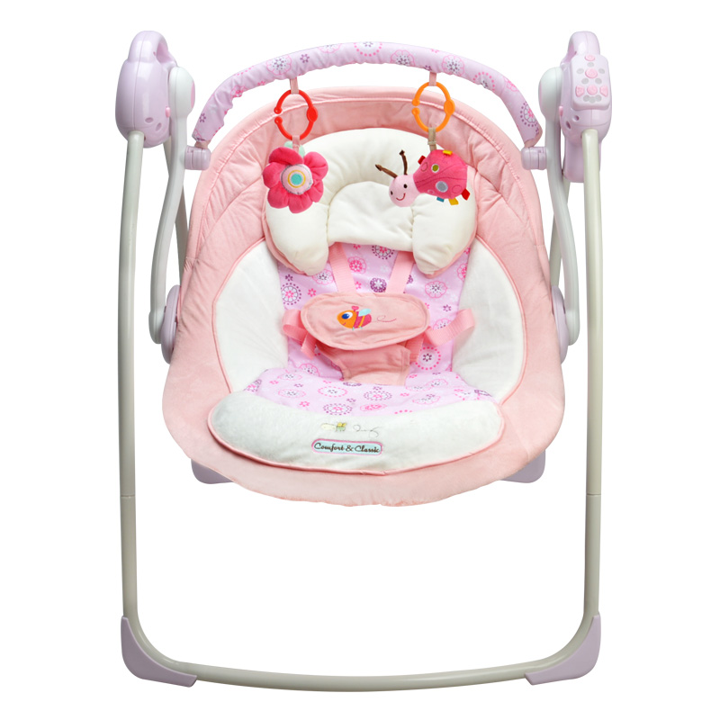 Merveilleux Free Shipping Electric Baby Swing Chair Musical Baby Bouncer Swing Newborn Baby  Swings Automatic Baby Swing Rocker Small Size In Bouncers,Jumpers U0026 Swings  ...