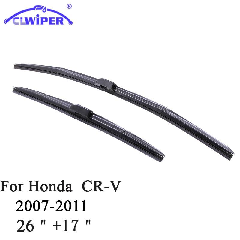 CLWIPER Windshield Wiper Blades For HONDA CR-V CRV 26