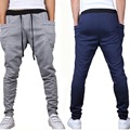 Men's Joggers Trousers Newest Korean Slim Skinny Track Pants Contrast Color Harem Trousers Casual Hip-Hop KH853814