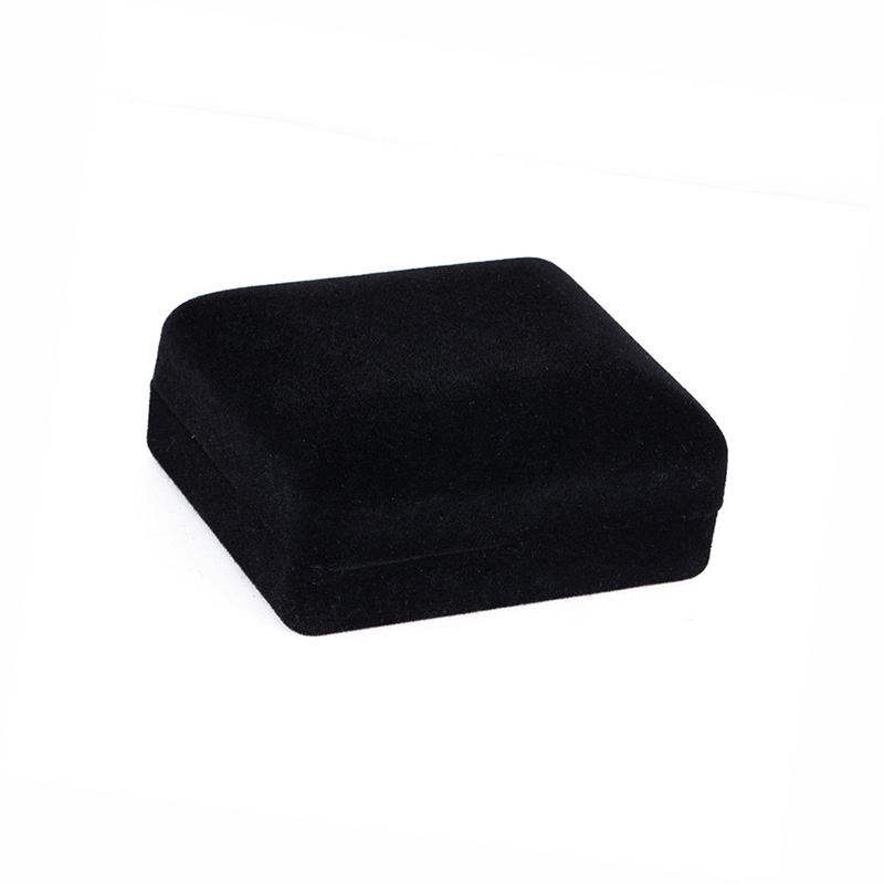 black flocking cufflink box velvet show cases jewelry show box for giftwithout box - Cufflink Box