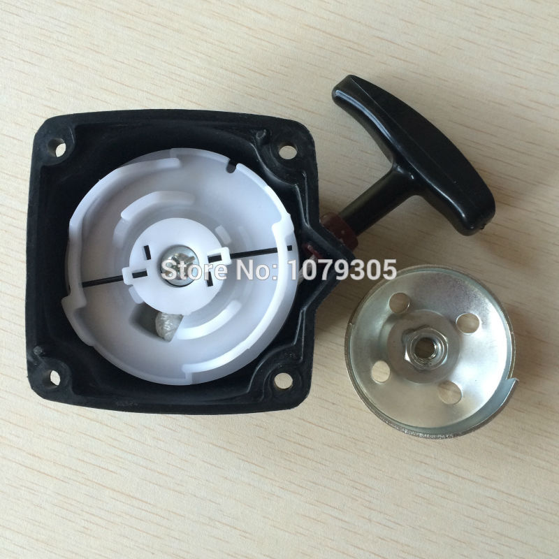 40-5 430 42.7cc 43cc Grass Trimmer Brush Cutter Steel Wire Recoil Pull Starter With Pulley