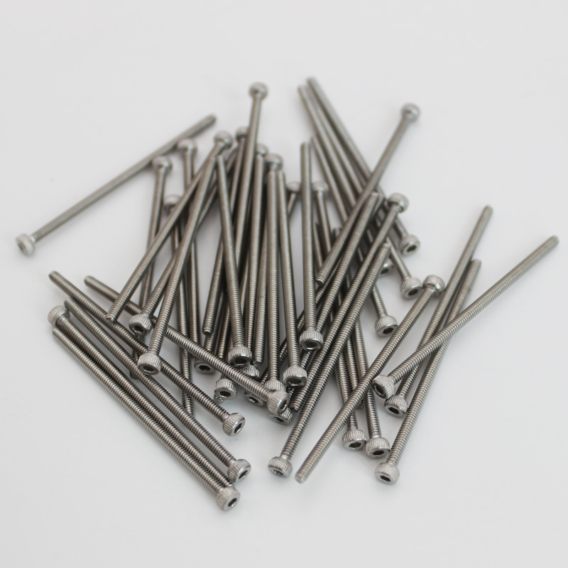 <font><b>M2</b></font> stainless steel <font><b>2mm</b></font> bolt screws fasteners hex round socket button cap head inner hexagon threaded image