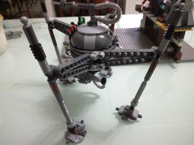 Star Space Wars Homing Spider Droid 3D Building Bricks Blocks Figures Toys for Children Game Compatible with Lepins DIY Model
