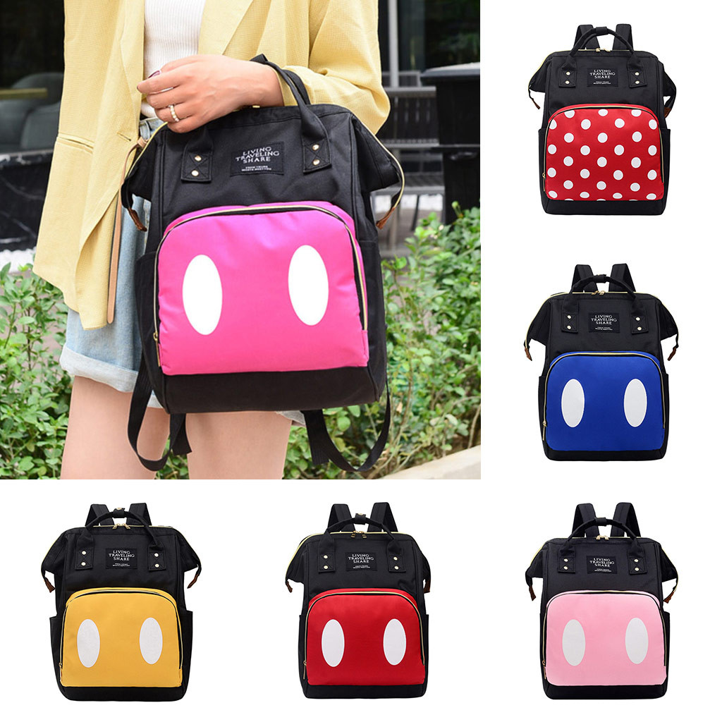 Preppy Style  Women's Bag Backpack Student Bag Travel Bag Large Capacity Middle Student Bag  School Backpack For Teenage Girls