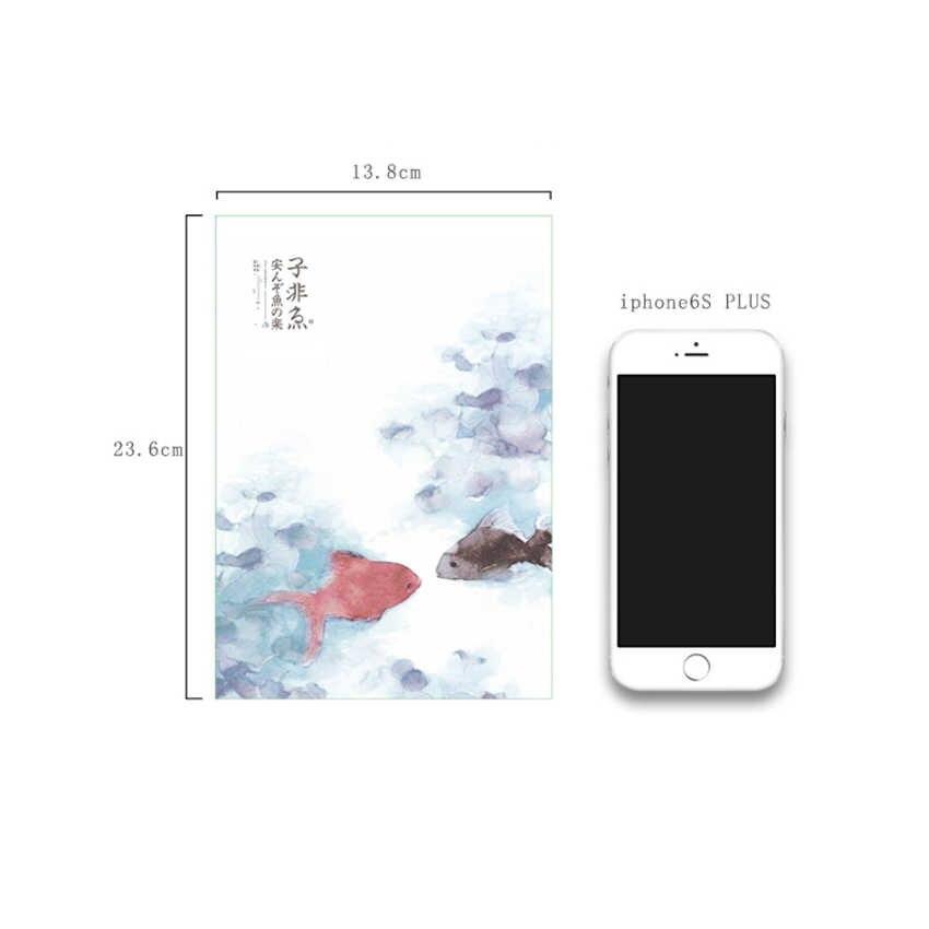 1 كتاب/الكثير لطيف الكورية نمط المذكرات اليومية 32k A5 دفتر مصغرة جيب مخطط توقيع ضيف كتاب هدية للفتيات