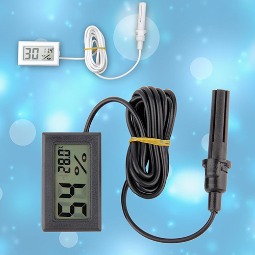 New Portable Mini LCD Thermometer Hygrometer Temperature Humidity Meter Probe 81WG