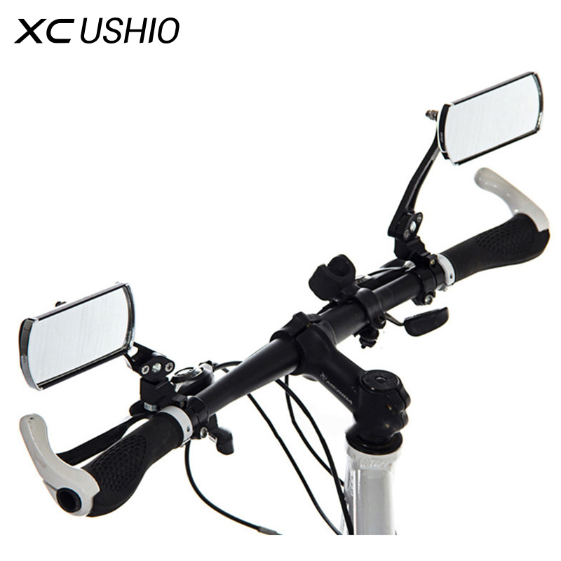 2018 hot 360 rotate Mountain Road motorcycle Bike Bicycle Rear View Mirror Reflective Safety cycling handlebar Rearview Mirror цена