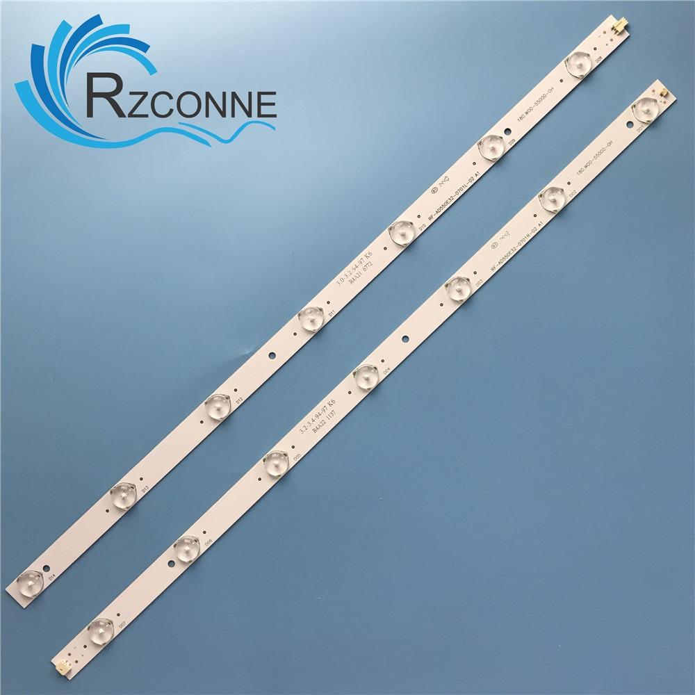 LED Backlight Strip 14 Lamp For 55 INCH TV  RF-AD550E32-0701R-02 RF-AD550E32-0701L-02 180.W00-55000-0H , 180.DT0-551900-0H