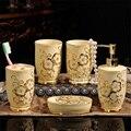 Новое поступление  европейский стиль  керамическая ванная комната  набор из пяти предметов  05001-1  креативные туалетные принадлежности для в...