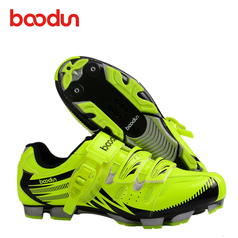 BOODUN Professional zapatillas ciclismo mtb Self-locking Cycling Shoes MTB Bicycle Shoes Non-slip Bike Shoes Sapatos ciclismo racmmer cycling gloves guantes ciclismo non slip breathable mens