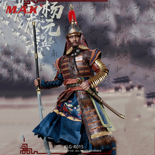 Full set with weapon gun KLG-R015 1/6 Deputy General of Liaodong in Namwon war Yang Yuan Action Figure Collection Doll Toys Gift full set tbleague pl2017 107 1 6 spartan god of war with acccollectible action figure doll