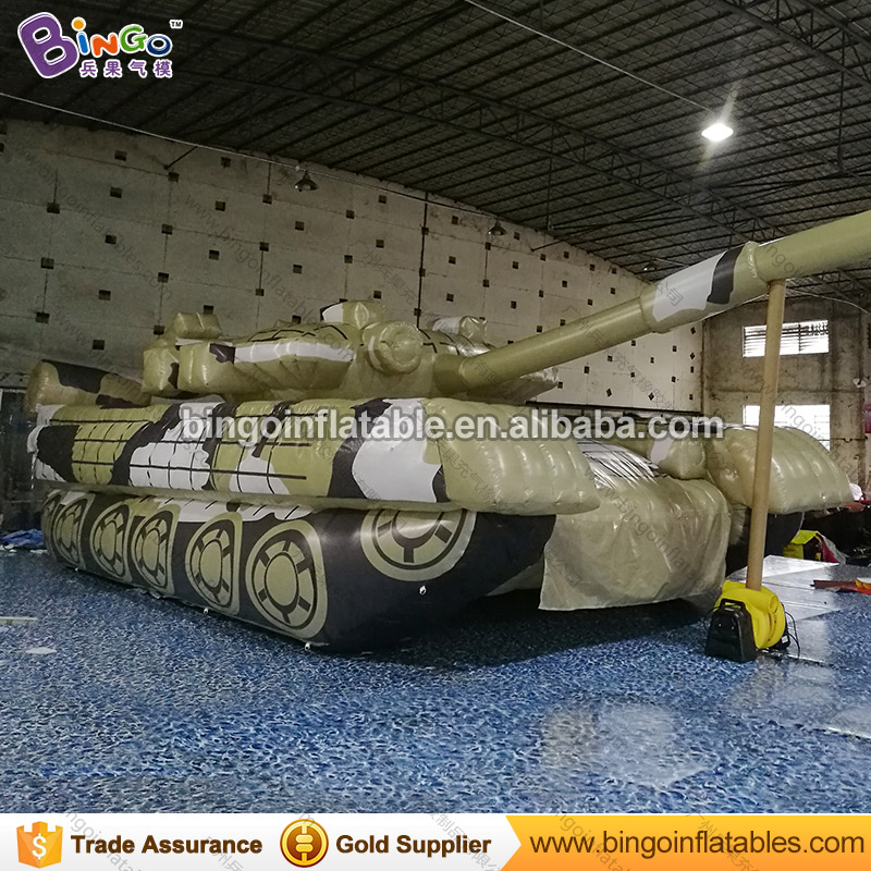 Free delivery 8.8x3.5x2.6m giant inflatable tank model with blower for event hot sale inflatable tank replica for decoration toy event decoration inflatable stand flower