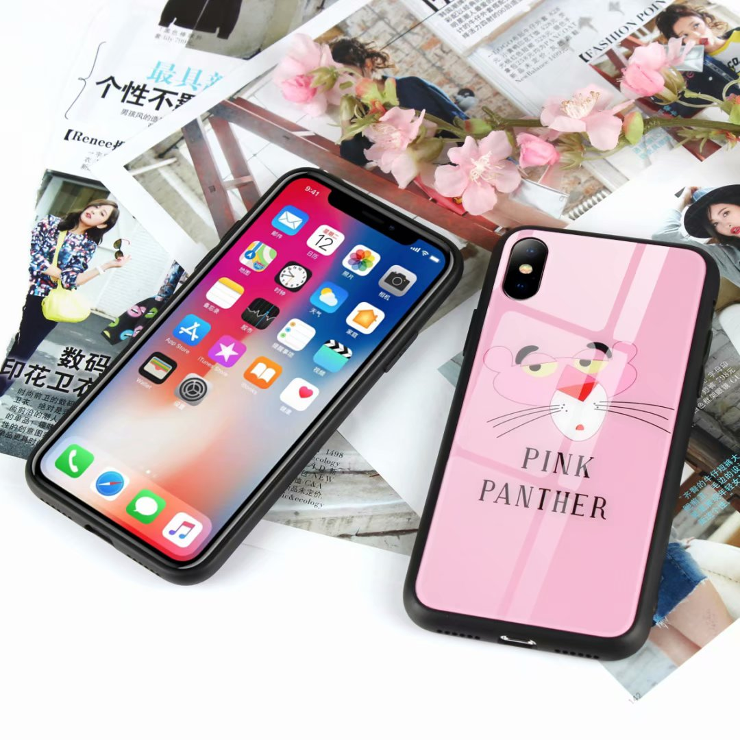 iphone x coque glossy