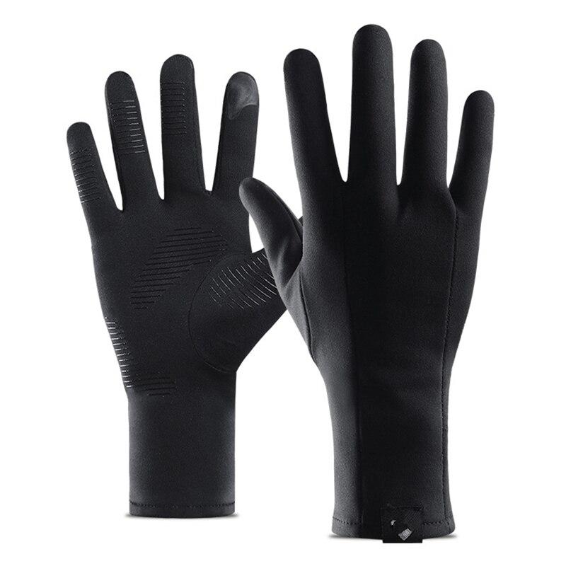 Winter Outdoor Sports Gloves Men Women Warm Touch Screen Windproof Mittens Glove Skid Velvet Running Mountaineering Riding Glove
