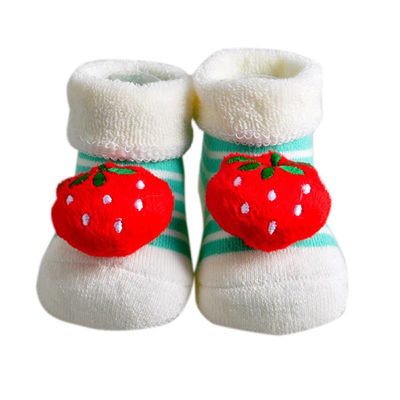 One Pairs Baby Socks New Born Meias Terry Cotton Animal Chicken Socks Infant Winter Socks & Leg Warmers (14)