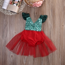Newborn  Baby Girl Summer Cute Clothes Romper Tulle Tutu Jumpsuit Sunsuit Outfits 0-3Y