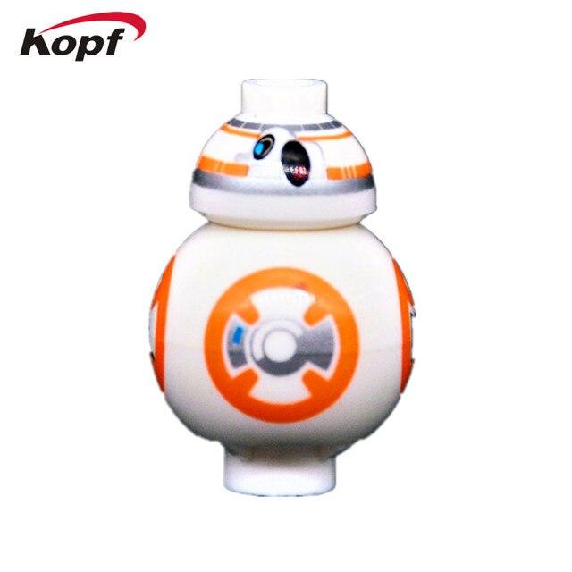 Star Wars Rogue One The Force Awaken Mini BB8 Astromech Droid Hot Movie Bricks Action Building Blocks Toys for children DA001