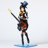 Free Shipping 8 K on! Anime Akiyama Mio 5th Anniversary Formal Ver. Boxed 22cm PVC Anime Action Figure Model Doll Toys Gift