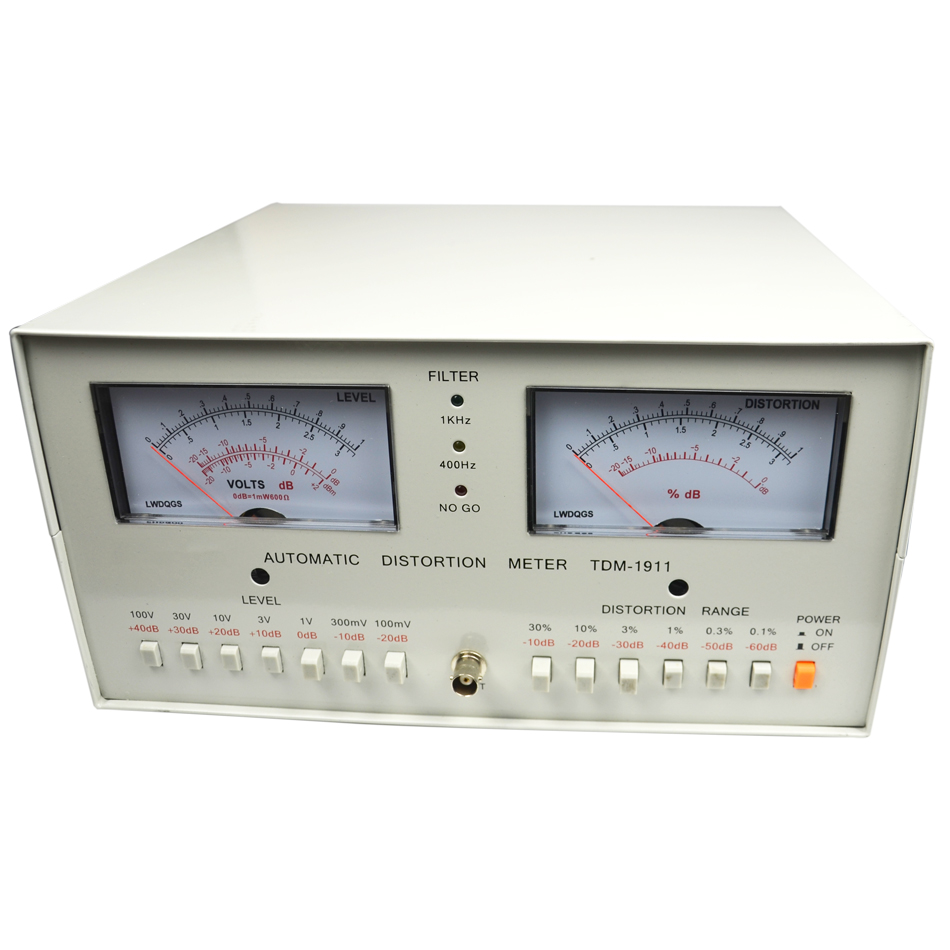Professional Tester TDM 1911 Automatic Distortion Meter Tester 0.01%   30% Audio Distortion Meter 110/220V TDM1911 distortion meter tester meter tester professional - title=