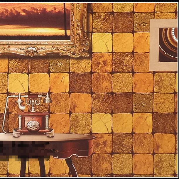 Vintage Gold copper gold silver marble Wall Paper Living Room Bedroom Wallpaper For Walls copper bathroom shelf basket soap dish copper storage holder silver