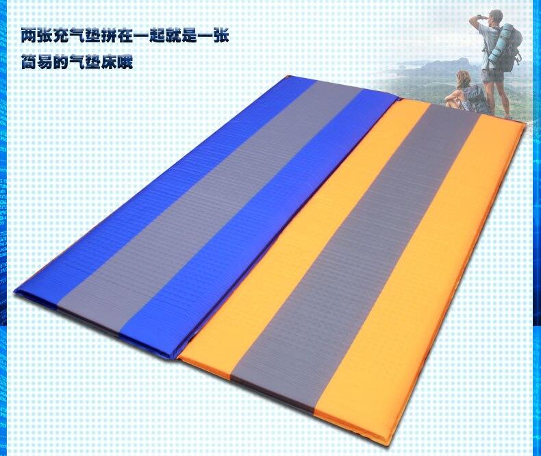 Flytop pvc 188*60*2.5cm única pessoa colchão inflável