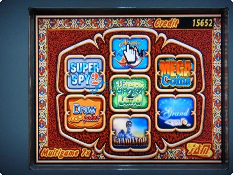 Многофункциональная игровая печатная плата 7X, казино, многоигровая печатная плата, красный слот, игровая доска 7 в 1, покерные игры для казино, машина для азартных игр