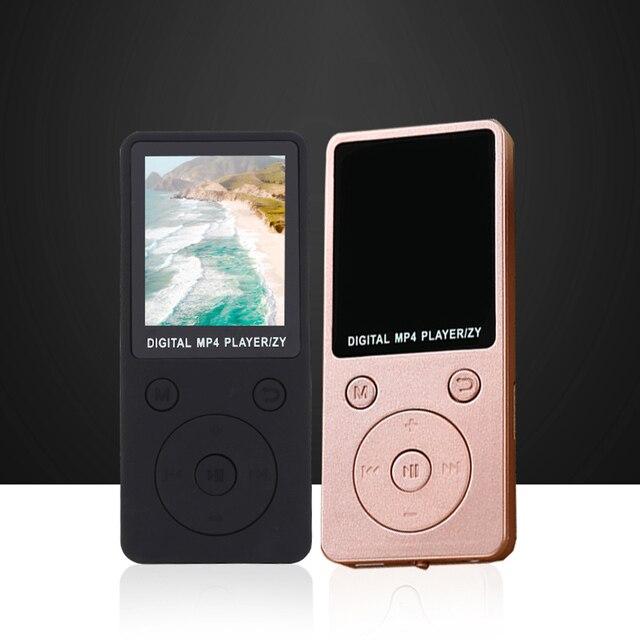 MP4 Âm Nhạc Máy Nghe Nhạc HD Xách Tay Thời Trang Màn Hình Hỗ Trợ 32 GB TF Card Ghi Âm Đài Phát Thanh DJA99