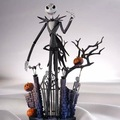 Jack Skellington Halloween Town Pumpkin King The Nightmare Before Christmas Revoltech Series Action Figure PVC Model