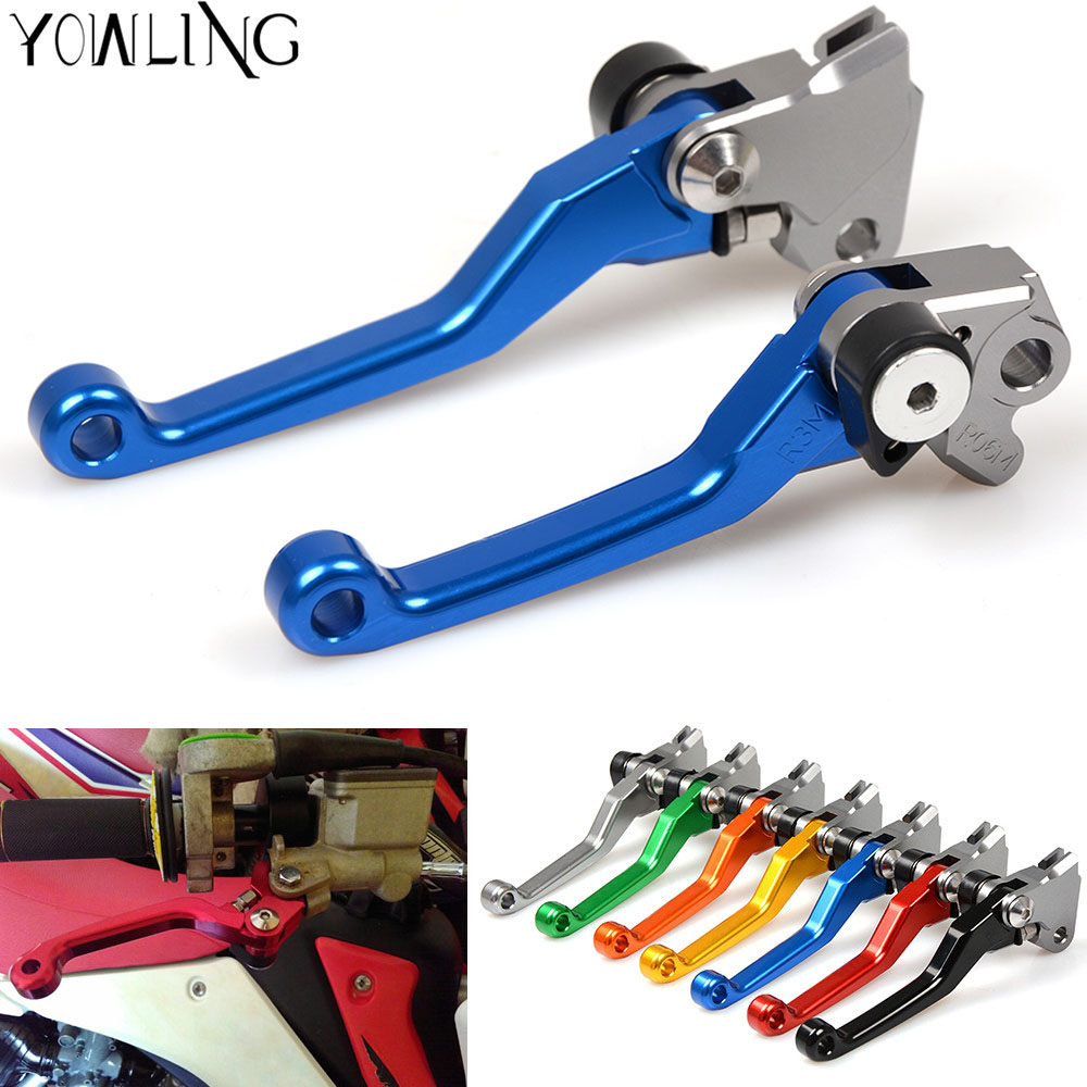For YAMAHA YZ125 YZ250 YZ250F YZ426F YZ450F YZ250X YZ 125 250 250F 426F 450F 250X CNC Pivot Brake Clutch Levers Dirt Bike Blue 2016 cnc pivot dirt bike adjustable clutch brake levers for yamaha yz250fx 2015 2016 yz426f 450f 2009 2016 yz250f 2009 2016 2015
