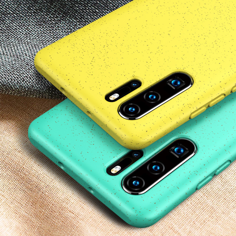 For Huawei P30 Pro Case Soft Silicone Shockproof TPU Back Cover For Huawei P30 Lite Case Fresh Fashion Candy Color Coque Cover