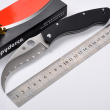 High quality VG-10 blade full gear G10 handle folding knife outdoor tool survival tactical camping knives