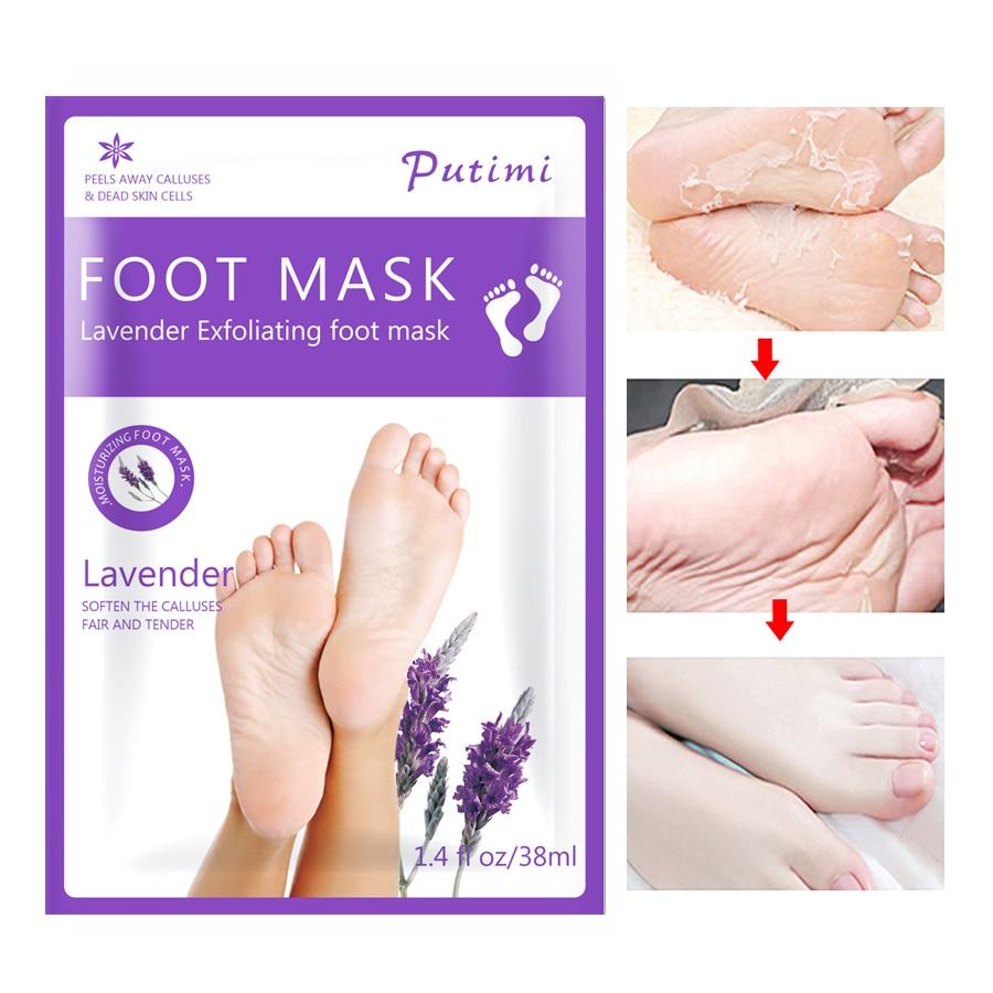 1 Paar Bleaching Fuß Maske Peeling Füße Maske Peeling Abgestorbene Haut Entferner Feuchtigkeits Füße Maske Pediküre Socken Fuß Hautpflege Supplement Die Vitalenergie Und NäHren Yin Hautpflege