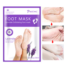 1Pair Whitening Foot Mask Exfoliating Feet Mask Peeling Dead Skin Remover Moisturizing Feet Mask Pedicure Socks Foot Skin Care цена