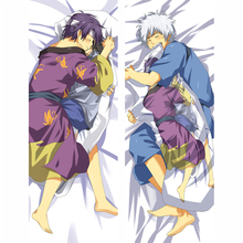 Japan Anime Hugging Body Pillow Case Cover Silver Soul Gintama Printed yh005 Dropshipping Wholesalers Bedding Decoration 150cm
