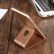 Wooden Phone Stand Holder