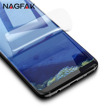 Soft Protective Film Full Cover For Samsung Galaxy S8 S8 Plus S7 Edge Screen Protector For Samsung S8 ( Not Tempered Glass )