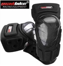 (2Pcs/Set) 100% Original Free Size Brand Madbike K022 Authentic Carbon Fiber Motorcycle Knee Protector Sport Knee Guard