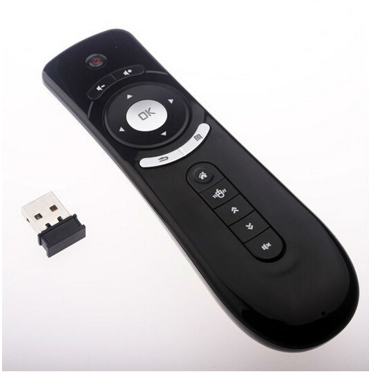 REDAMIGO Giroscopio Fly Air Mouse tastiera Gaming Android Remote Control 2.4 ghz Tastiera Senza Fili del Gioco per la Tv Box PC HDTV RCLT2
