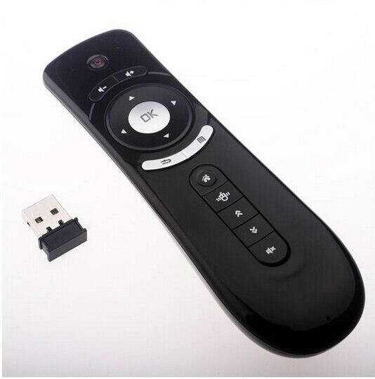 REDAMIGO giroscopio Fly Air ratón F2 teclado del juego Android Control remoto 2,4 GHz inalámbrico para Tv Box PC HDTV