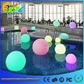 20 cm flutuante iluminado levou piscina luz bola